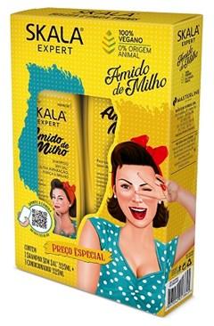 KIT SH + COND SKALA 325ML AMIDO DE MILHO