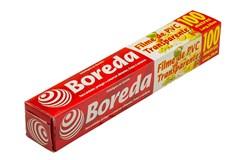 FILME PVC BOREDA 28CM X 100M