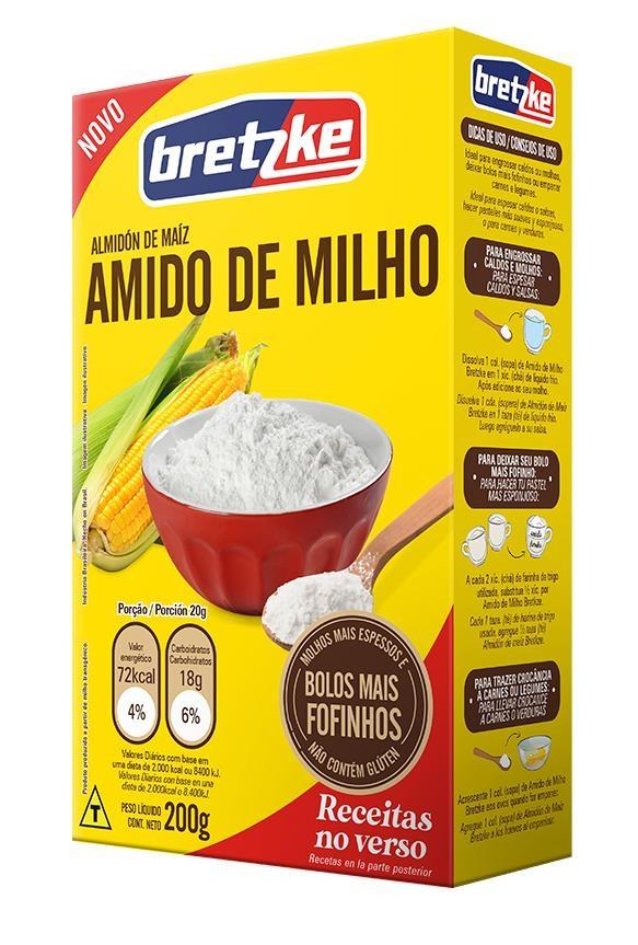 AMIDO MILHO BREZTKE 200G