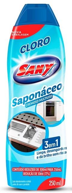 SAPONACEO CR 250ML SANY CLORO