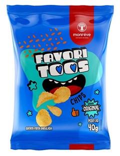 CHIPS BATATA FAVORITOOS 40G NATURAL