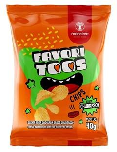 CHIPS BATATA FAVORITOOS 40G CHURRASCO