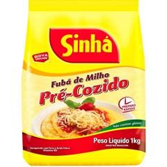FUBA PRE-COZIDO FINO SINHA 1KG