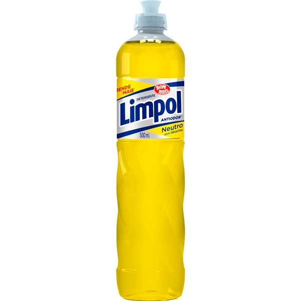 LAVA LOUCA DET LIQ LIMPOL 500ML NEUTRO