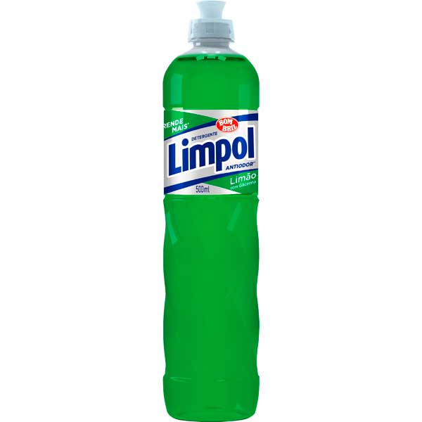 LAVA LOUCA DET LIQ LIMPOL 500ML LIMAO