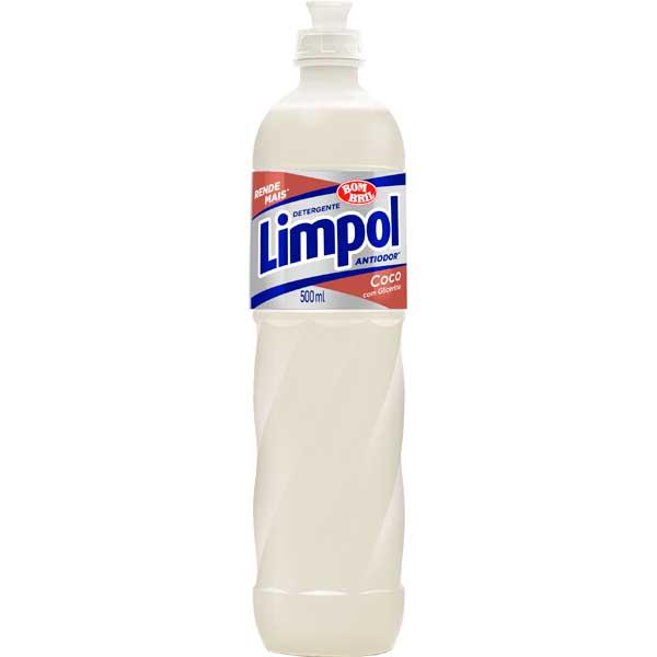 LAVA LOUCA DET LIQ LIMPOL 500ML COCO
