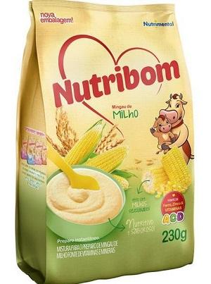 MINGAU NUTRIBOM SACHE MILHO 230G