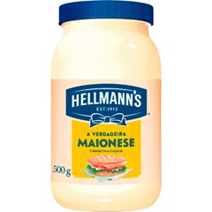MAIONESE HELLMANN S PETY 500G