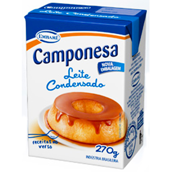 LEITE COND CAMPONESA TP 270G INTEG 8%G