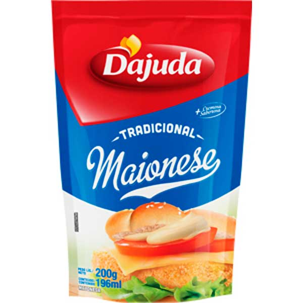MAIONESE DAJUDA DOY PACK 200G