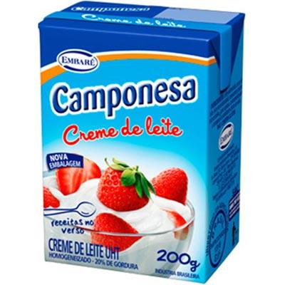 CREME LEITE TP  200G CAMPONESA 17%G