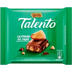 CHOCOL GAROTO TALENTO  25G CASTANHA