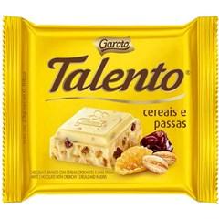 CHOCOL GAROTO TALENTO  25G BRANCO