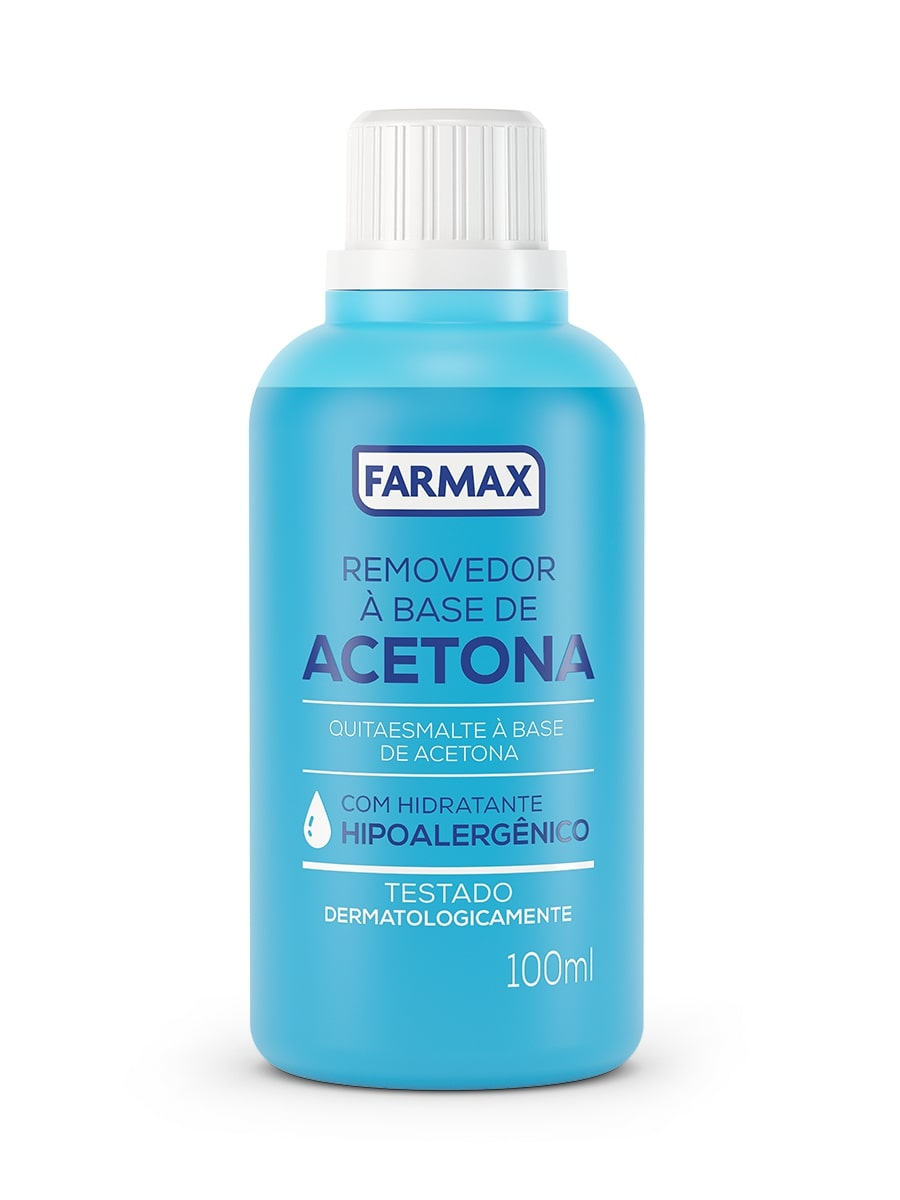 ACETONA FARMAX 100ML REMOVEDOR