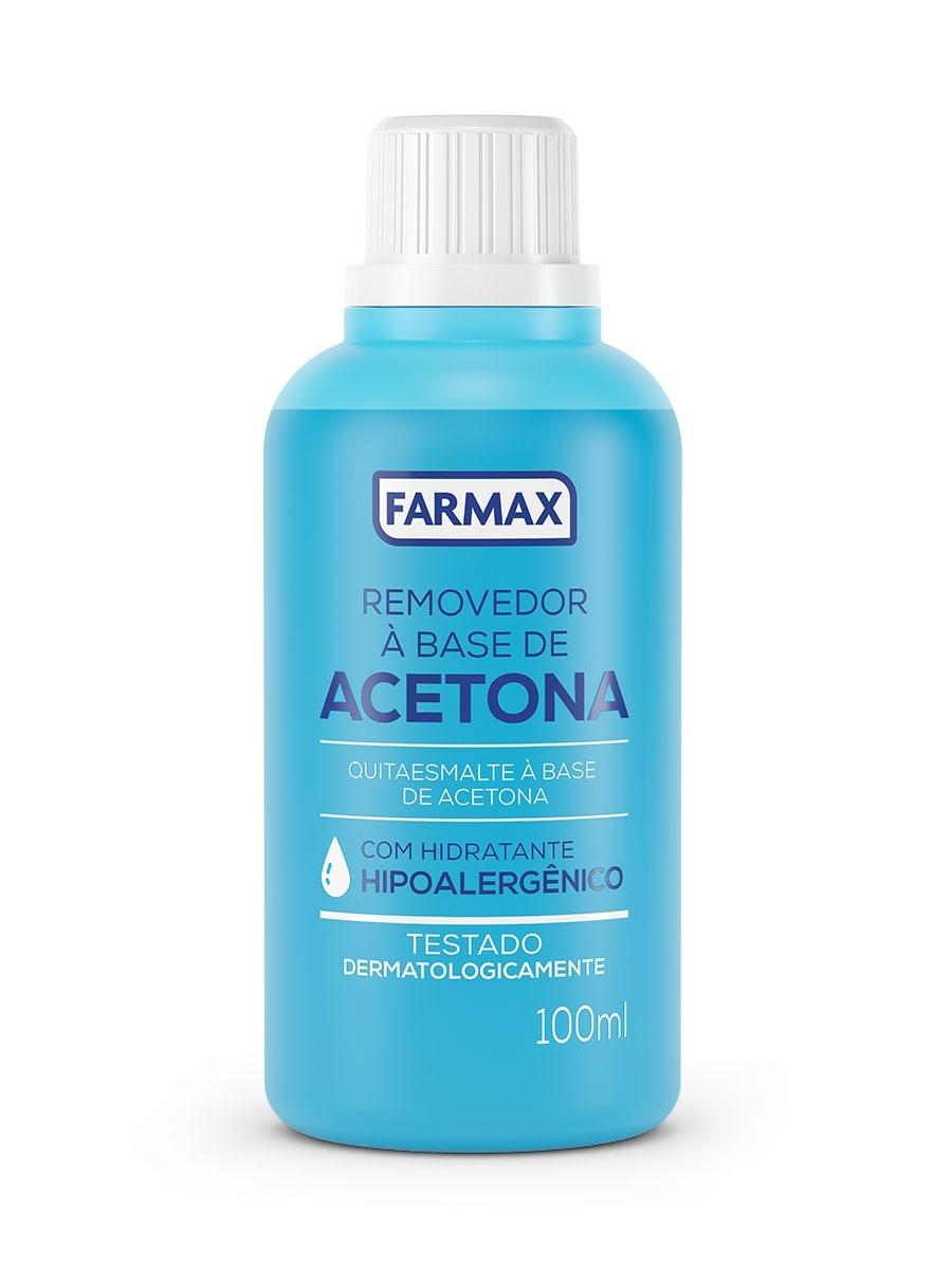 ACETONA FARMAX 100ML REMOVEDOR