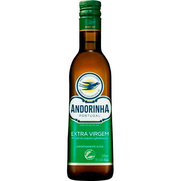 AZEITE VIDRO 500ML ANDORINHA EXT VIRGEM
