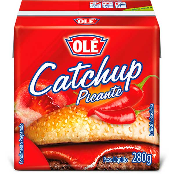 CATCHUP TP OLE 280G PICANTE