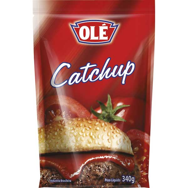 CATCHUP DOY PACK OLE 340G TRADIC