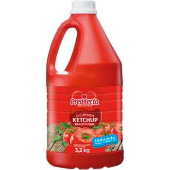 CATCHUP GALAO 3,2KG PREDILECTA RED CALOR
