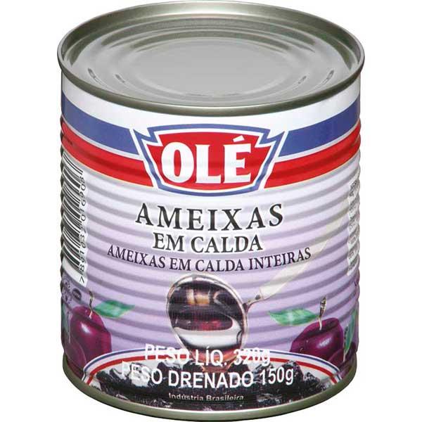 AMEIXA CALDA OLE LATA 150G
