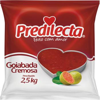 GOIABADA PREDILECTA CREMOSA BAG 2,5KG