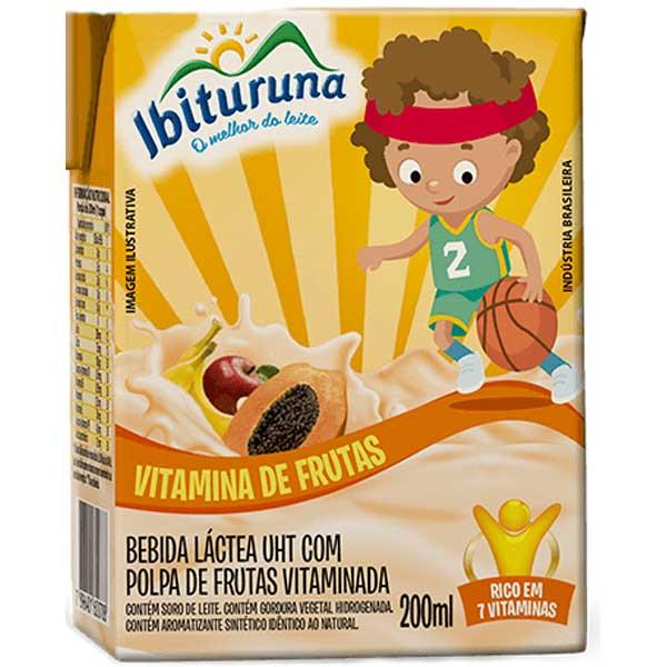 BEB LAC LIQ IBITURUNA  200ML VITAMINA FR