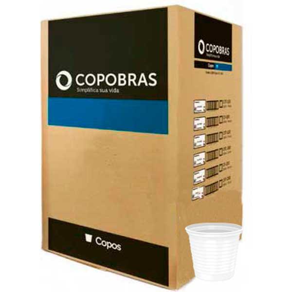 COPO DESC PP COPOBRAS TRANSP 50X500ML