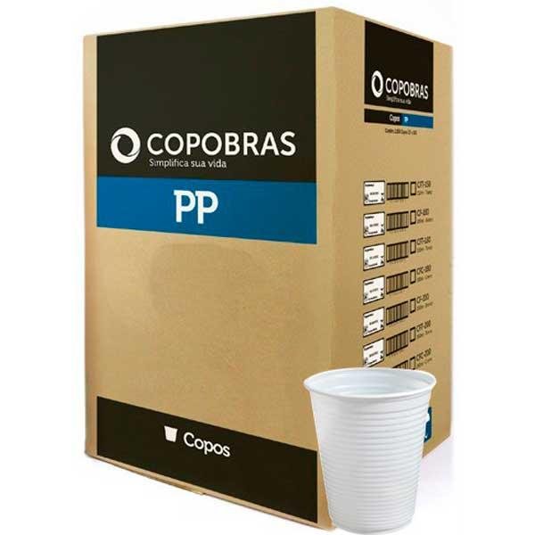 COPO DESC PP COPOBRAS BRANCO 100X200ML