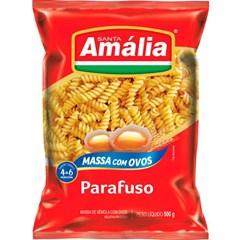 MACARRAO OVOS S AMALIA 500G PARAFUSO