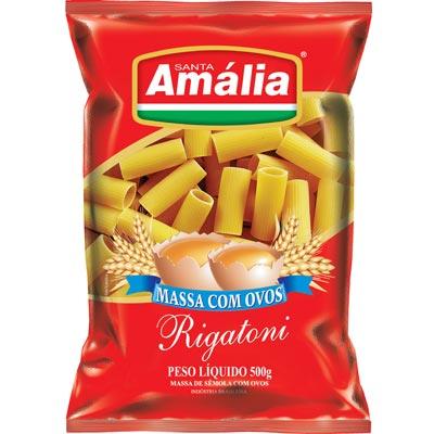 MACARRAO OVOS S AMALIA 500G RIGATONI