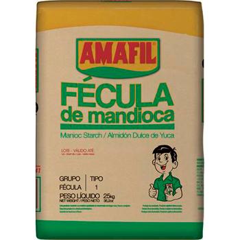 FECULA MANDIOCA AMAFIL 25KG