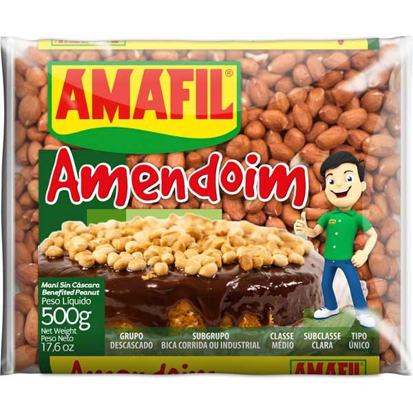 AMENDOIM BRANCO AMAFIL 500G