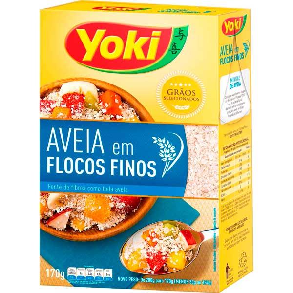 AVEIA YOKI 170G FLOCOS FINOS