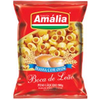MACARRAO OVOS S AMALIA 500G BOCA LEAO
