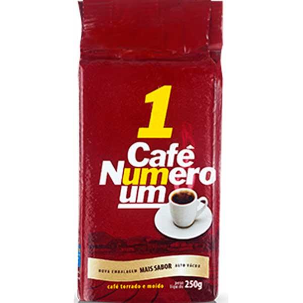 CAFE PO VACUO 250G NUMERO UM TRADIC
