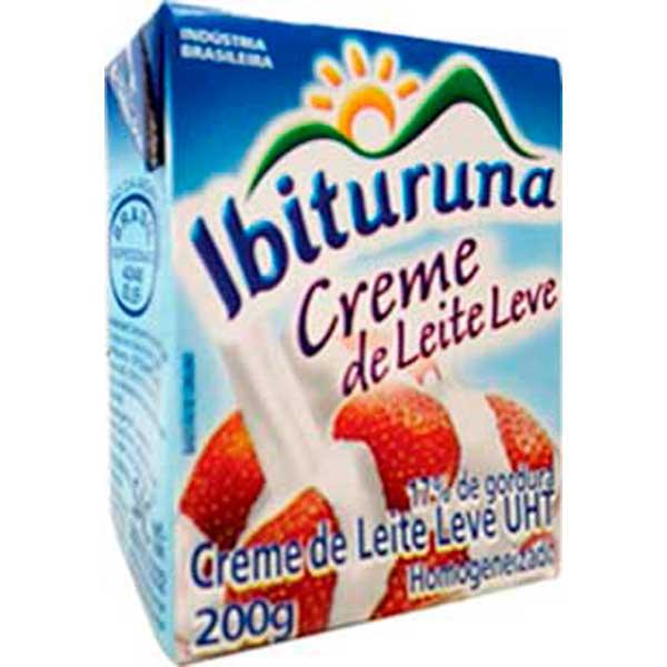 CREME LEITE TP  200G IBITURUNA 17%G