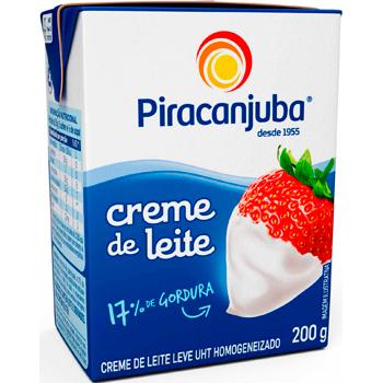 CREME LEITE TP  200G PIRACANJUBA 17%G