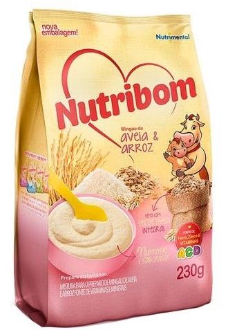MINGAU NUTRIBOM SACHE AVEIA E ARRO 230G