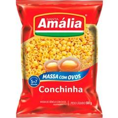 MACARRAO OVOS S AMALIA 500G CONCHINHA