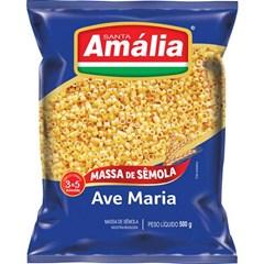 MACARRAO SEMOLA S AMALIA  500G AV MARIA