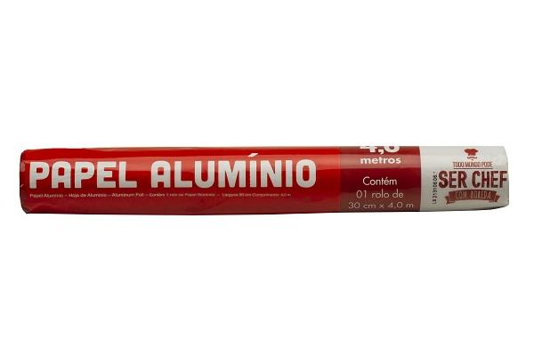 PAPEL ALUMINIO BOREDA 30X04M