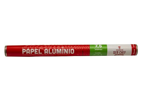 PAPEL ALUMINIO BOREDA 45X7,5M