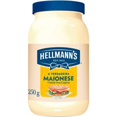 MAIONESE HELLMANN S PETY 250G