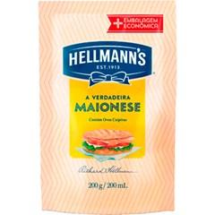 MAIONESE HELLMANN S DOY PACK 200G
