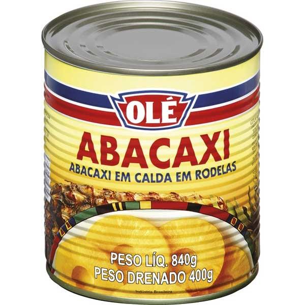 ABACAXI CALDA OLE LATA 400G RODELAS