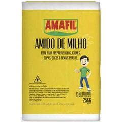 AMIDO MILHO AMAFIL 25KG PAPEL