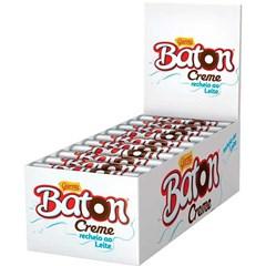 CHOCOL GAROTO BATON 16G AO LEITE C/CREME