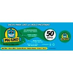 SACO LIXO ROLO PEG LIXO AZUL  50L 40UN