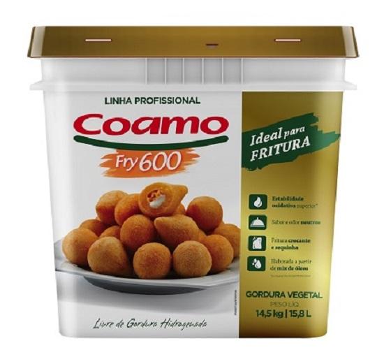 GORDURA LIQ 14.5KG COAMO FRY 600