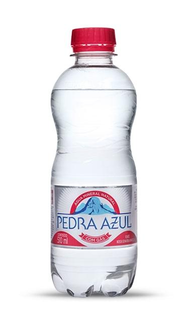 AGUA MIN PEDRA AZUL C/GAS 510ML